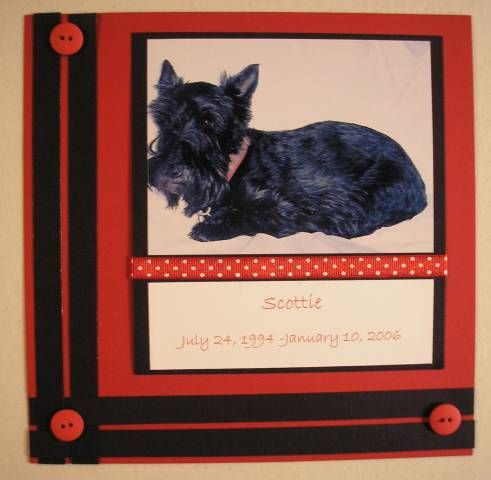 Scottie by sullypup - Cards and Paper Crafts at Splitcoaststampers