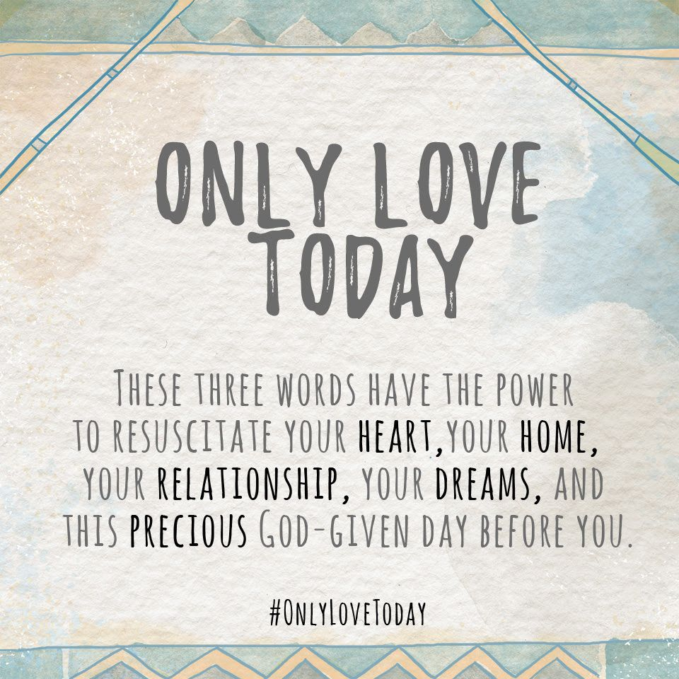 Rachel Macy Stafford On Choosing Love Today
