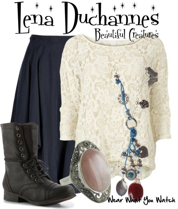 Inspired by Alice Englert as Lena Duchannes in 2013's Beautiful Creatures.
