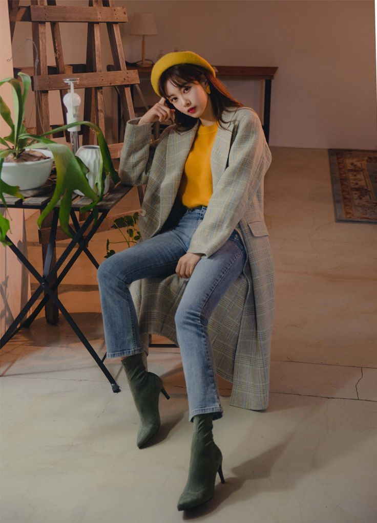 Pull On Heeled Boots