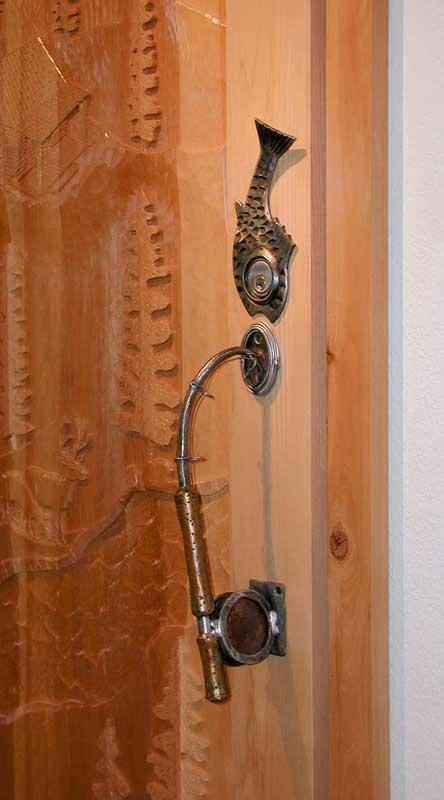 Door Pull, Fishing Rod, Fly Fishing, Door Handle | Lidt af hvert - A ...
