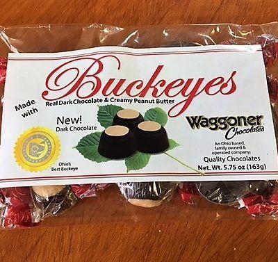 waggaoners buckeyes dark chocolate bag