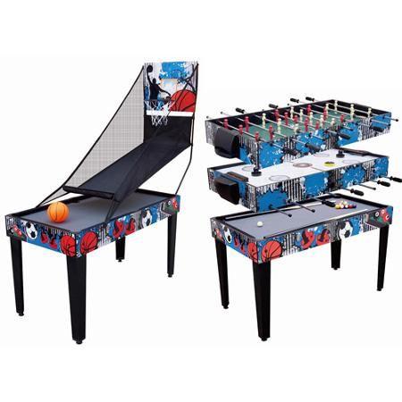 Lovely 4 In 1 Recreational Table   Pool / Foosball / Air Hockey / Basketball