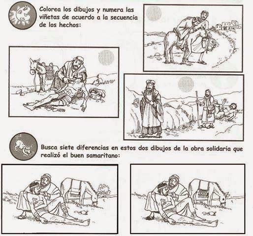 Image Of Dibujos Para Colorear El Buen Samaritano El buen samaritano ...