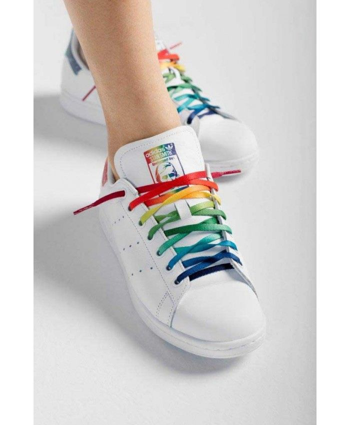 brand new c1bde 330af Adidas Stan Smith Womens Pride Rainbow Trainers