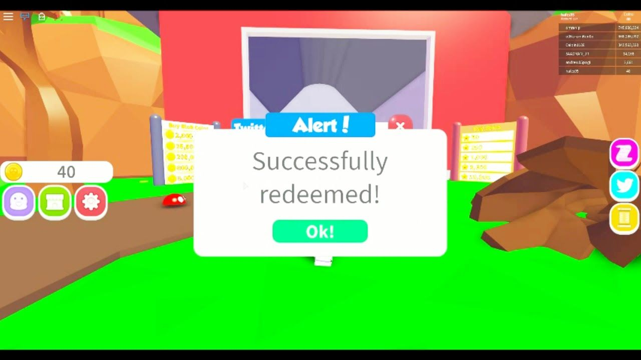 New Code Update 2 Blob Simulator 2