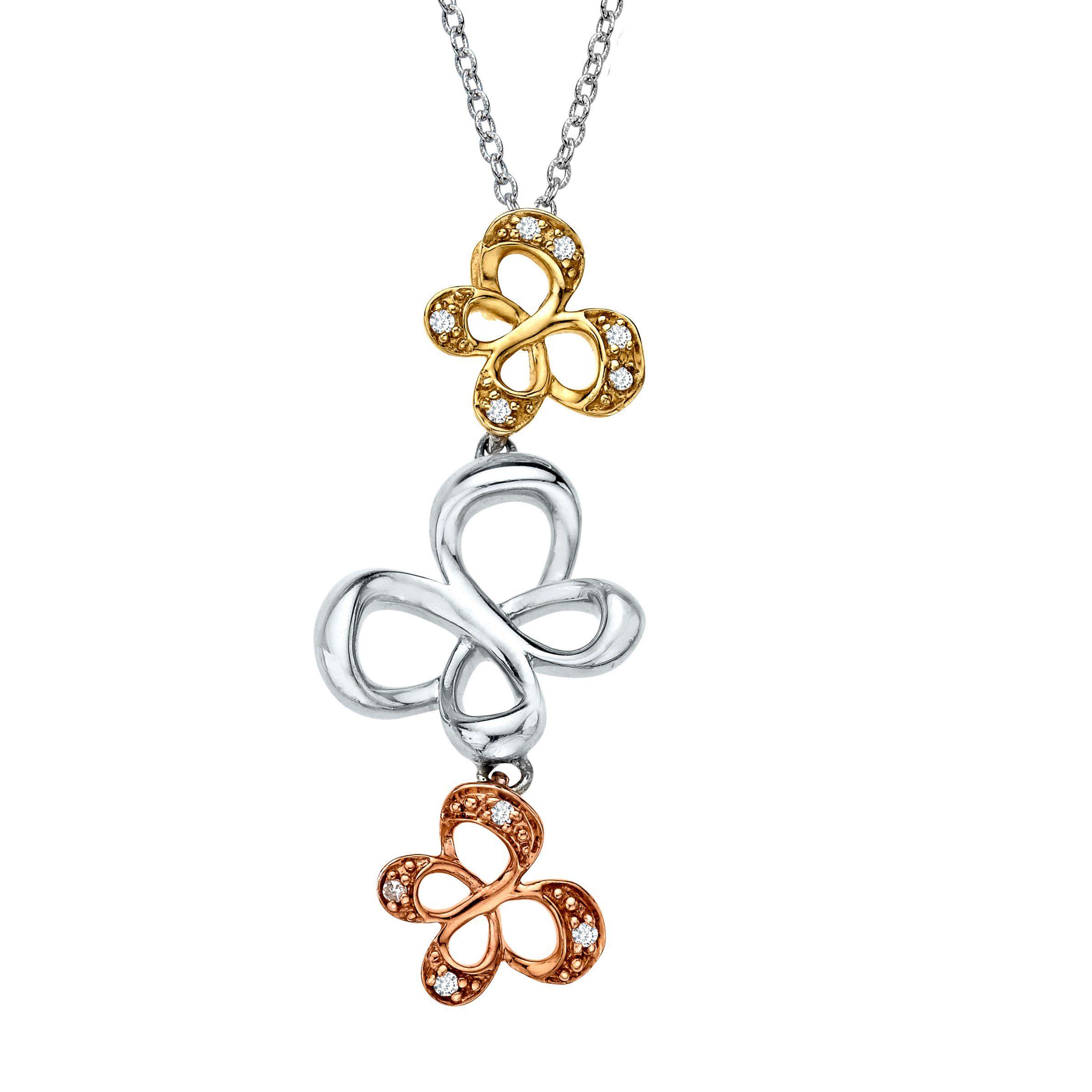 Jessica simpson diamond pendant necklace diamond pendant