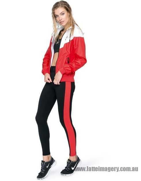 shop authentic new series Nike - Nike Windrunner Jacket - Daring Red, White & Black - NI126SA91RCE - Women - Clothing - Coats & Jackets online