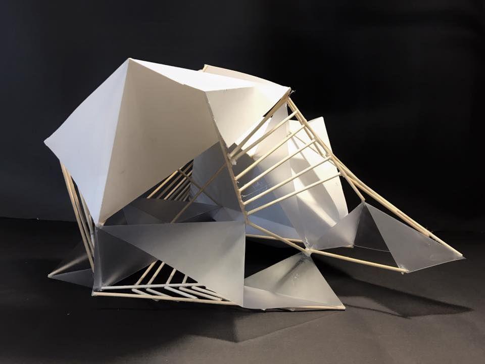 Yigit Ozcan Line Plane Void Concept Models Architecture