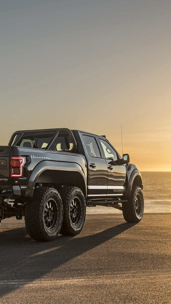 Ford Hennessey Velociraptor 6x6 Is Pure Aggression On