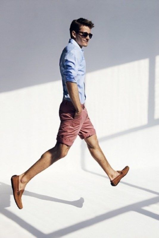 Casual summer look for a real man