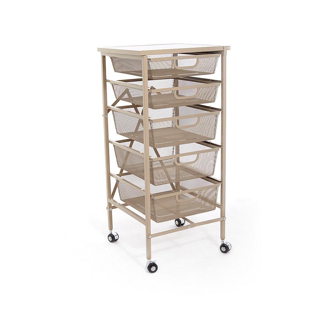 Kitchen Cart With Baskets Basket Design Ideas Origami Drawer Desi