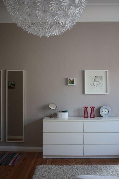 Fantastisch Wandfarbe. Wandgestaltung SchlafzimmerWohn ...