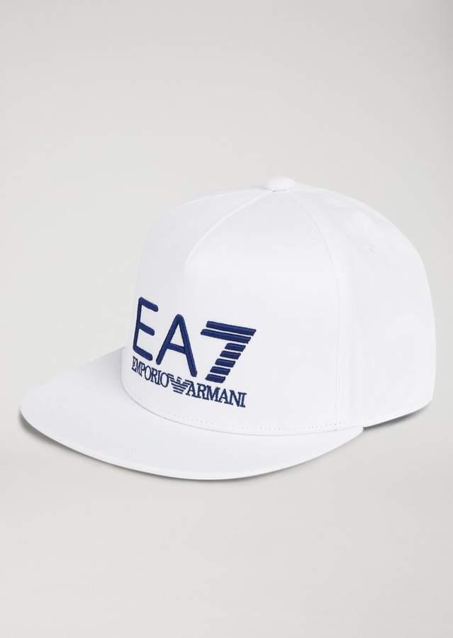 ab04b7874b Emporio Armani Ea7 Cotton Snapback With Logo | Products | Emporio ...