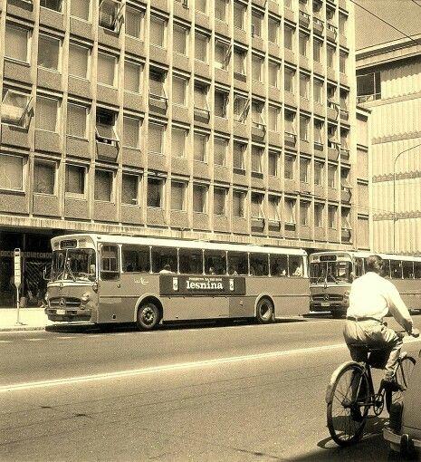 Postaja Konzorcij V 60ih Konzorcij Bus Station In 60s