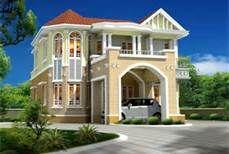 wacky house