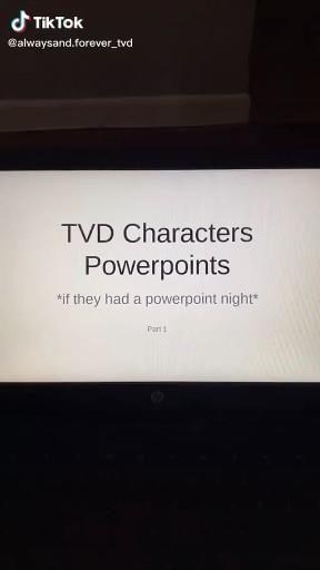 The Vampire Diaries Powerpoint Edit P1 Video Vampire Diaries Funny Vampire Diaries Guys Vampire Diaries