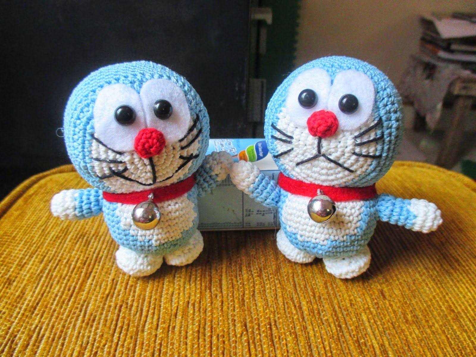 Amigurumi Doraemon Free Pattern : Crochet. amigurumi doraemon : amigurumi pinterest amigurumi