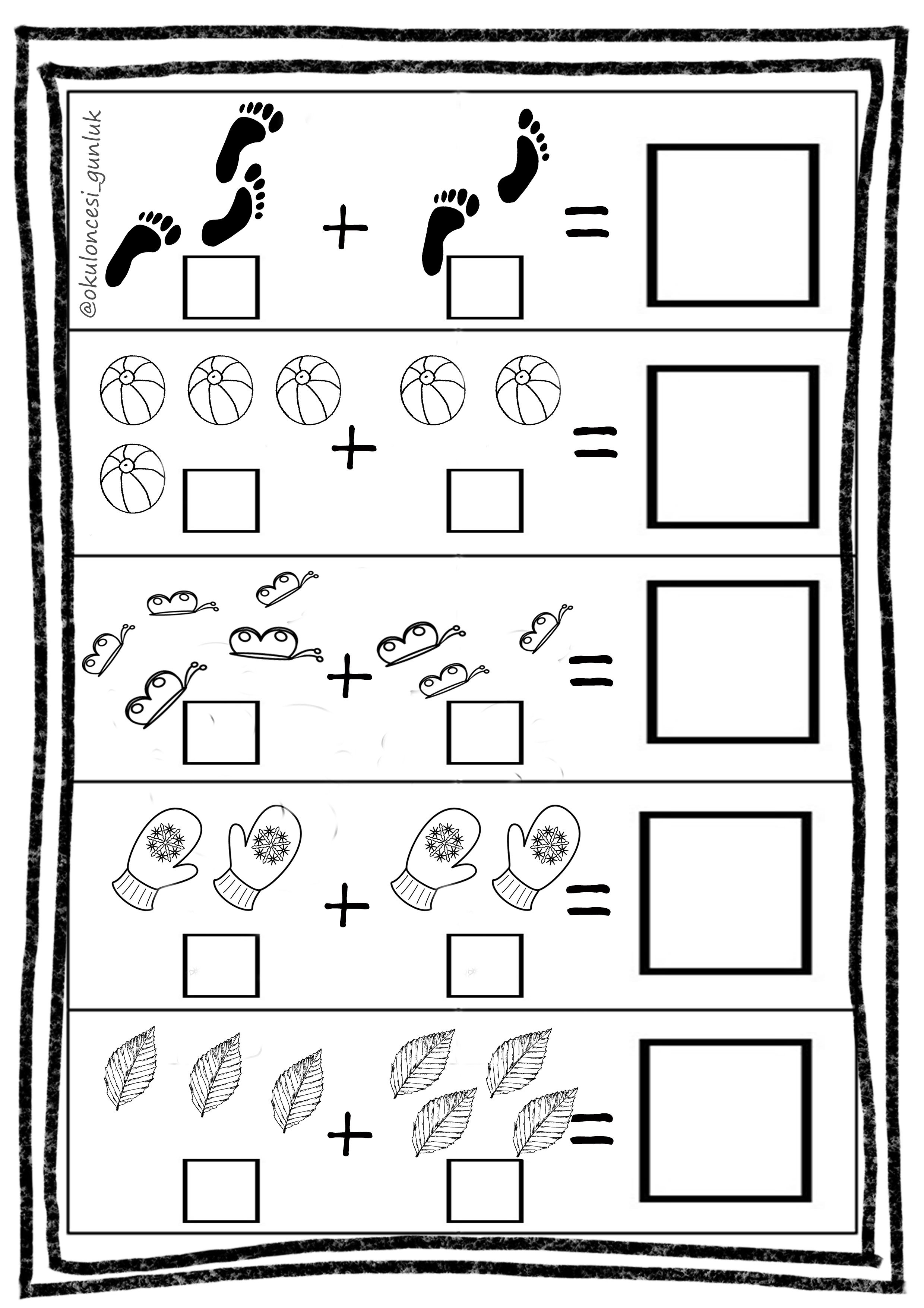 Pin By Mia On Calisma Sayfalari Workpages Math Centers Kindergarten Kindergarten Math Worksheets Kindergarten Addition Worksheets [ 3508 x 2480 Pixel ]