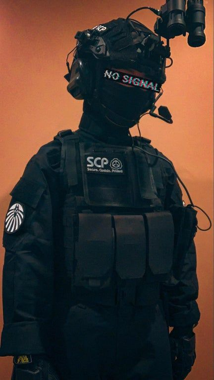 This my Mobile Task Force costume that I'll be wearing for Halloween and also for airsoft, anything else I should add?