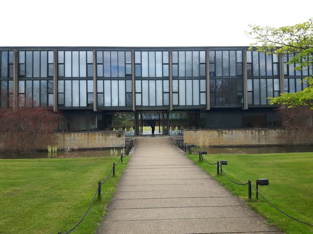 St Catherineu0027s College Oxford By Arne Jacobsen