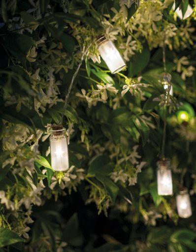 Fiorira un giardino guirlande lumineuse à led de 170 cm idéale pour décorer votre jardin