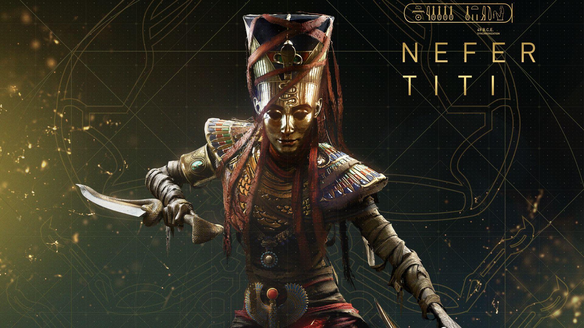 Download Wallpapers Of Assassin S Creed Origins Nefertiti Curse