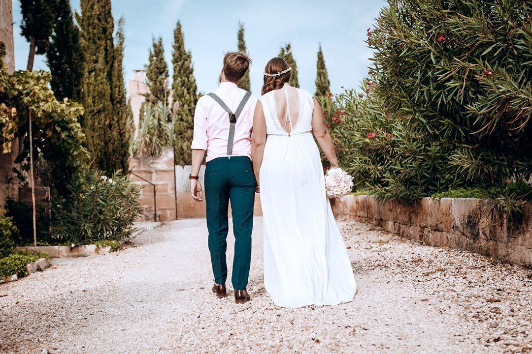 Den Weg Gemeinsam Gehen Egal Was Kommt Das Ist Ein Ziel Jeder Ehe Wir Wunsche Ehe Brautpaar Hochzeit