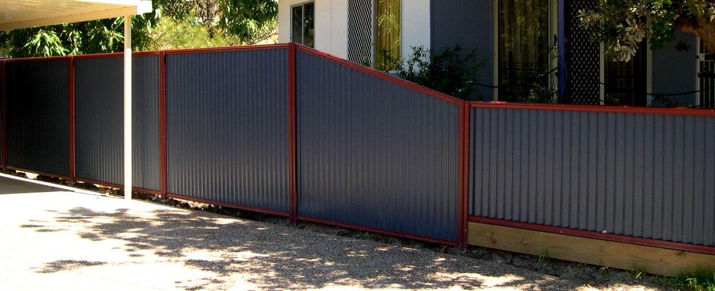 Colorbond sheets brisbane - Brisbane Metal Fencing Colorbond Chainwire Pool Fencing