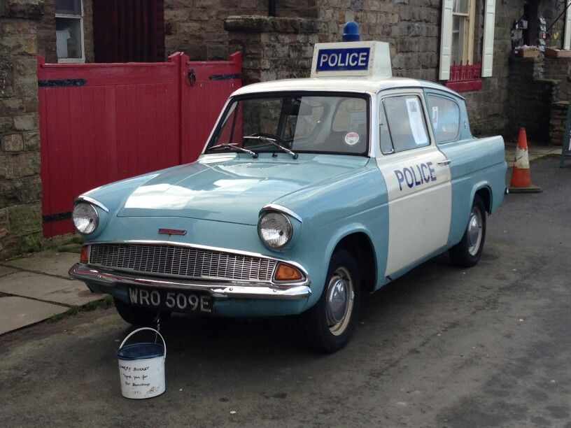 Ford Anglia Police Car Without The Panda Car Guise But Still