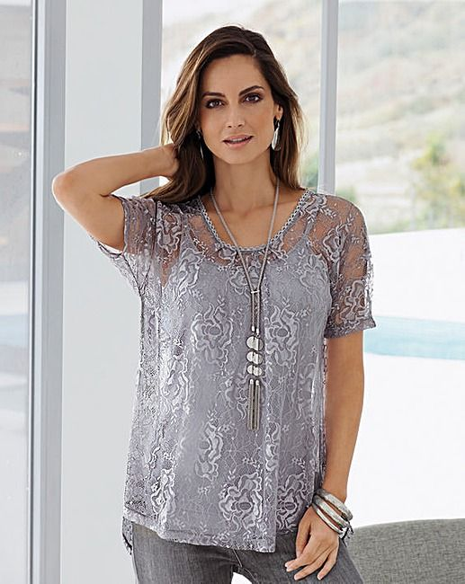 be642718523f0 JD Williams Fashion Wishlist | Outfit Inspiration | Sheer lace top ...