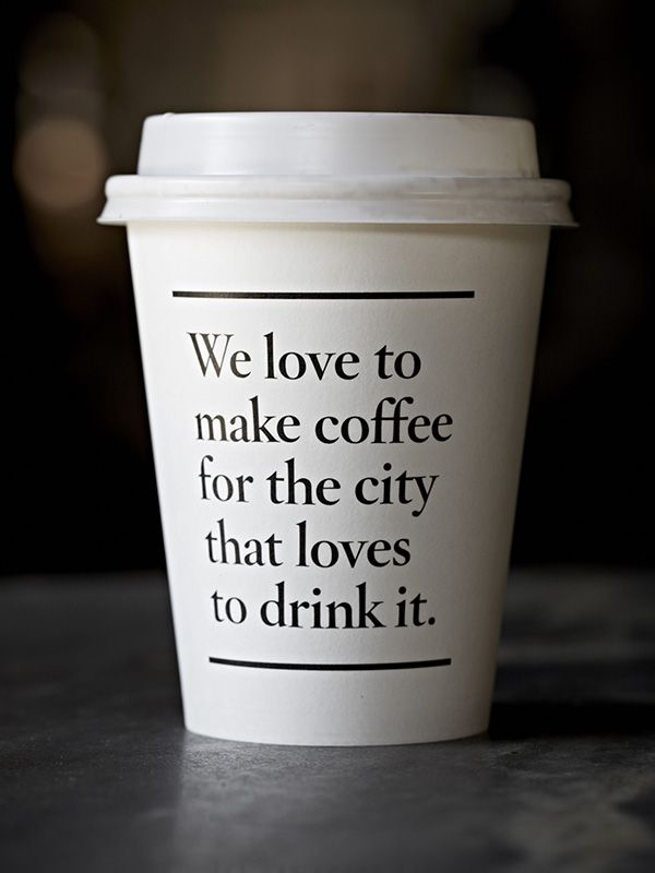 A Photo Gallery Of Good Looking Takeaway Coffee Cups From Around The World Designtaxi Com Paper Coffee Cup Coffee Cup Design Melbourne Coffee