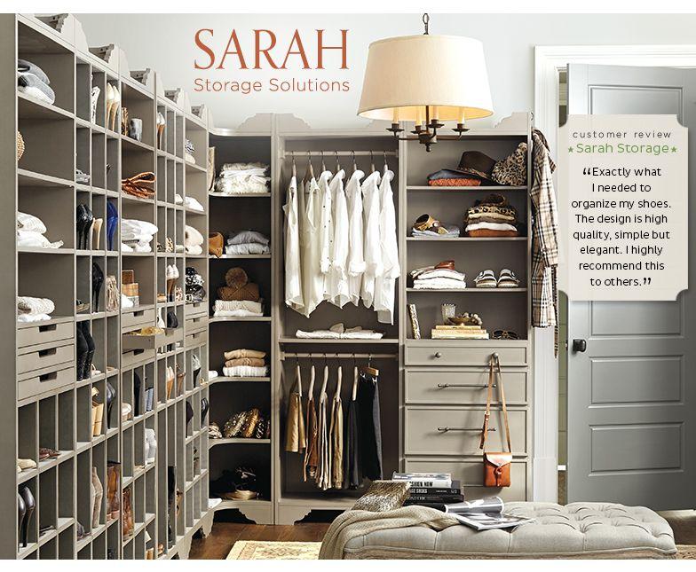 Master Closet Organization Ideas Part - 41: Master Closet | Master Closet Design U0026 Organization | Ballard Designs Love  ...
