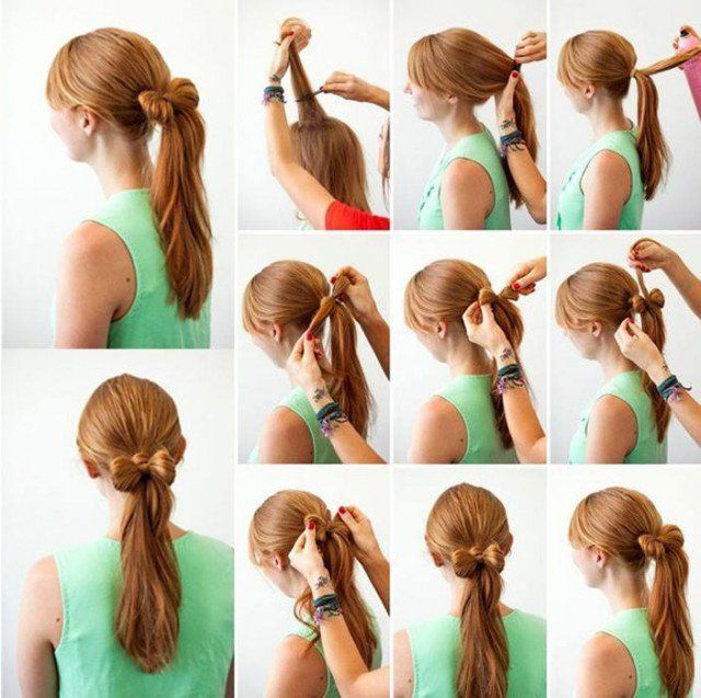 Easy Hairstyles Step By Step Adorable Lovely Hairstyles Stepstep  Google Search  Say Yes To