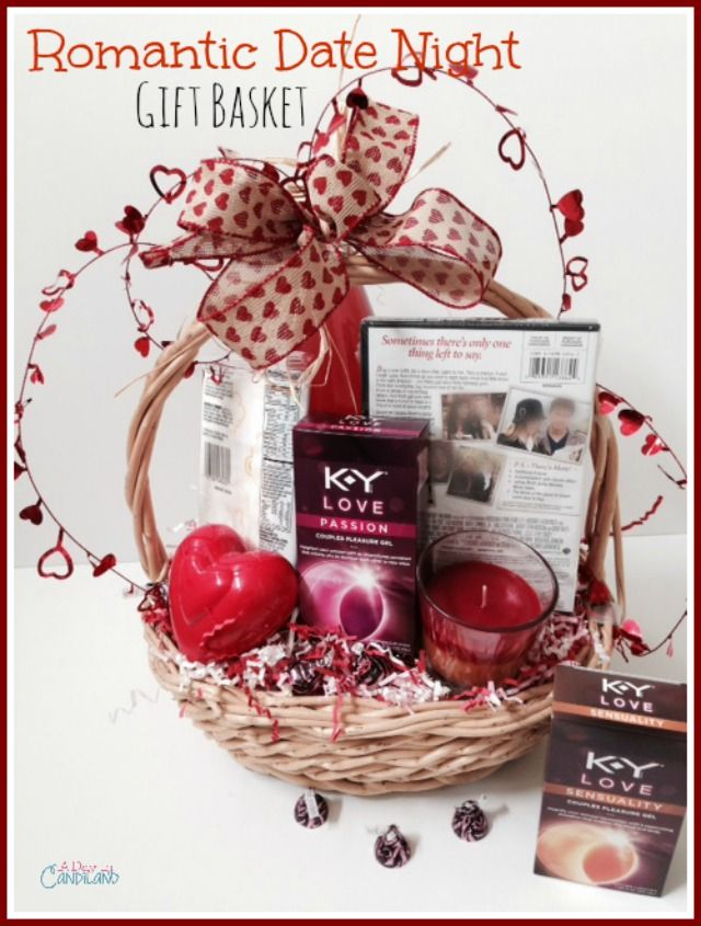 A Day In Candiland Create A Romantic Date Night Gift Basket With Tutorial