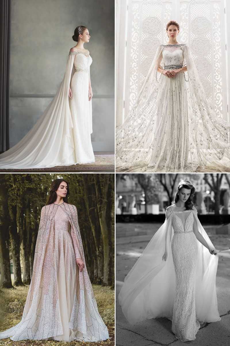 Glamorous and romantic fall wedding dress trends nature for Nature inspired wedding dresses