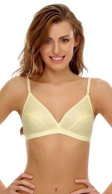 Sexy yellow bra