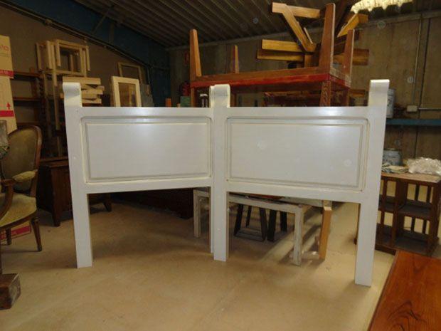 Cabeceros en muebles outlet para cama invidual de 90 cm. fabricados ...