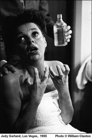 Judy Garland.  Photo by William Claxton
