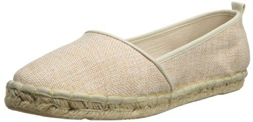 Annie Shoes Womens Taffy FlatNatural Linen85 M US ** For more information, visit image affiliate link Amazon.com