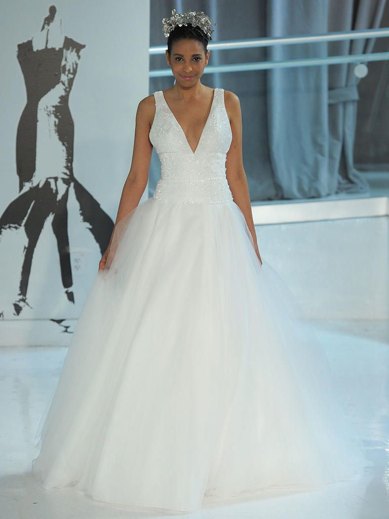 New wedding dress  Peter Langner Spring  Edgy and Elegant Wedding Dresses