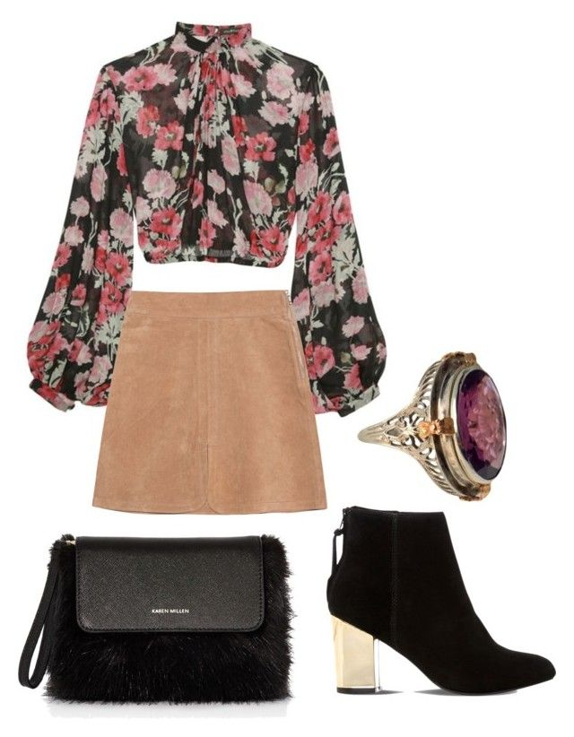 """""""Retro-Chic"""" by lizzylandfashion on Polyvore featuring Jill Stuart, See by Chloé, Steve Madden and Karen Millen"""