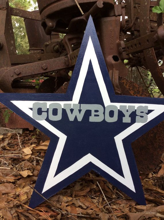 Dallas cowboy yard art  c2a9b268554b