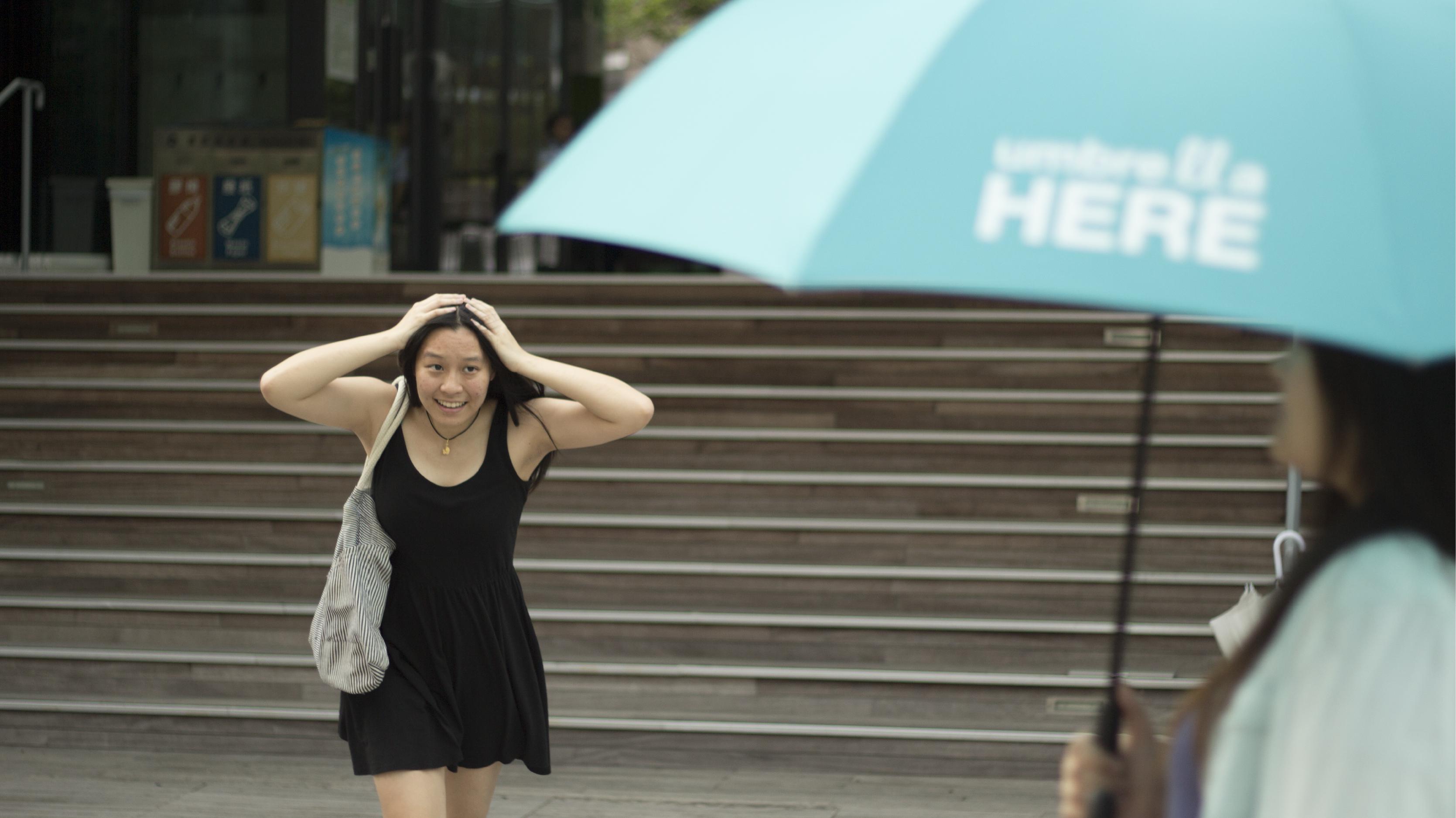 Umbrella Here | Light your umbrella for sharing. #UmbrellaHere #design #interaction #sharing #light  Support us on Kickstarter! https://www.kickstarter.com/projects/1369020620/umbrella-here-light-up-your-umbrella-for-sharing