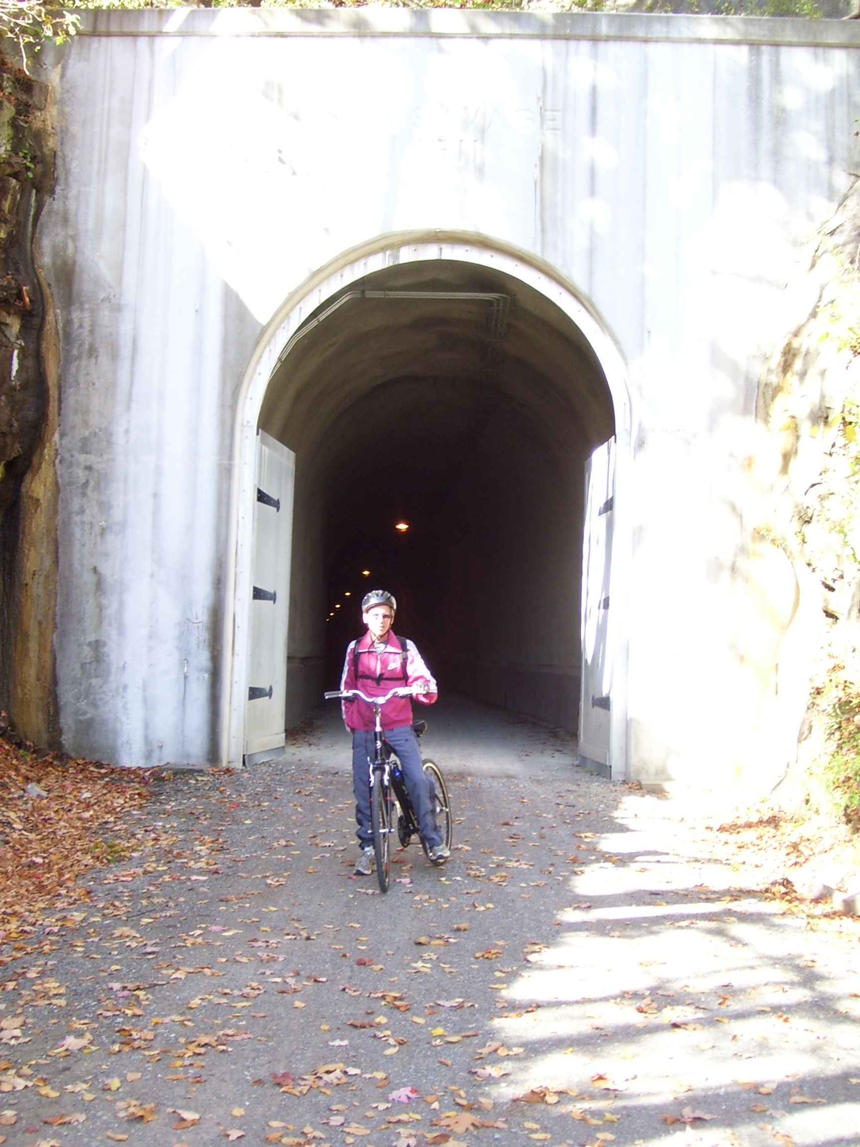 GAP - Great Allegheny Passage - Big Savage Tunnel - The doors are closed after Thanksgiving & GAP - Great Allegheny Passage - Big Savage Tunnel - The doors are ...