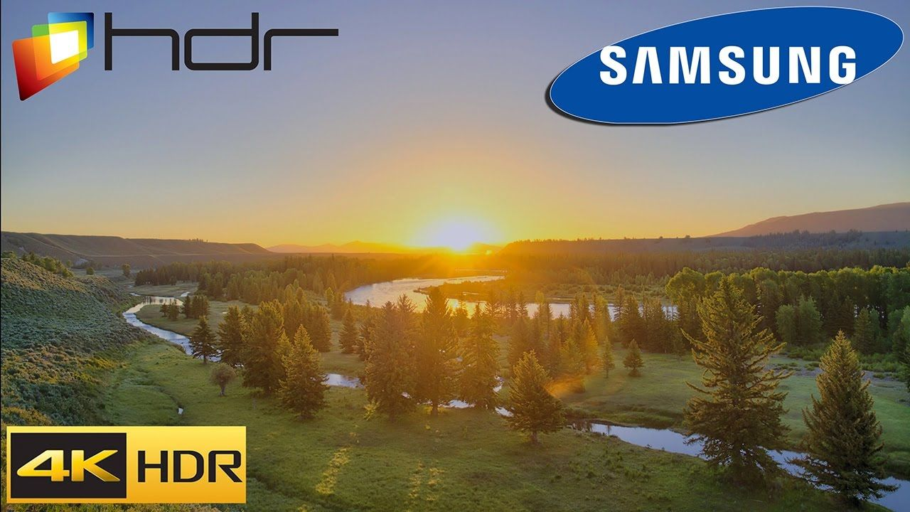 SAMSUNG HDR SUHD TV Demo - Chasing the Light HDR 4K UH Demo 60fps