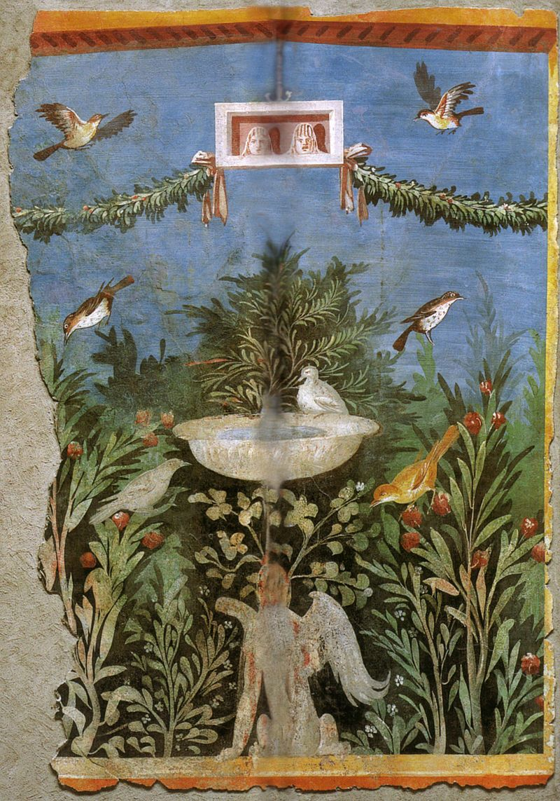 Category:Ancient Roman paintings of gardens   Dipingere ...