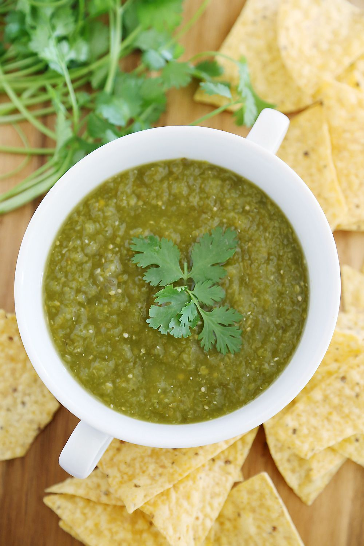 Hatch Green Chile Salsa Verde Recipe Green Chile Salsa Recipe Salsa Verde Hatch Green Chile