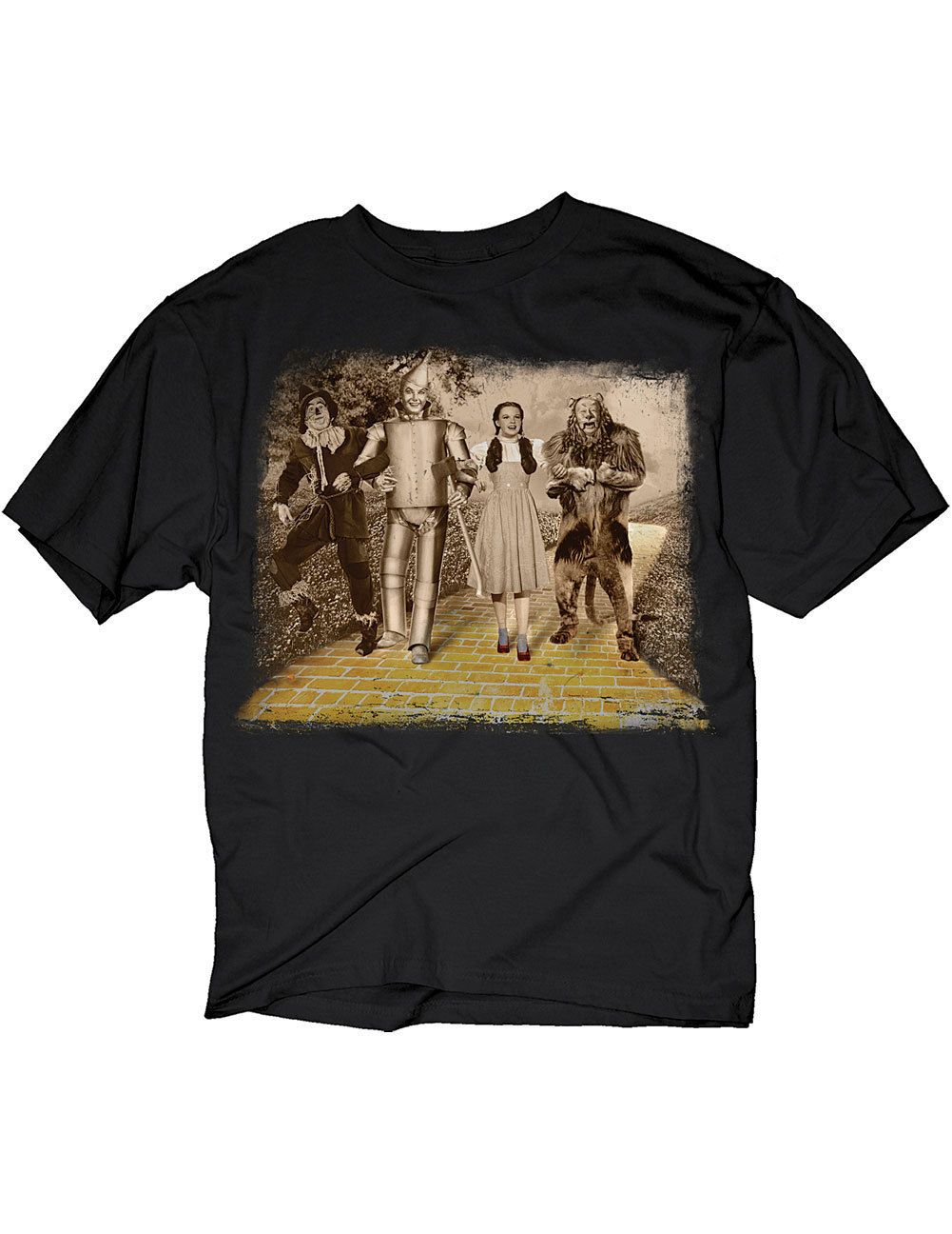 NEW NWT Wizard Of Oz Dorothy Lion Scarecrow Tin Man Stroll T-Shirt 2X