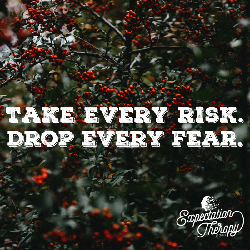 Fear is like a heavy weight on your shoulders. Let it go. #FaithOverFear